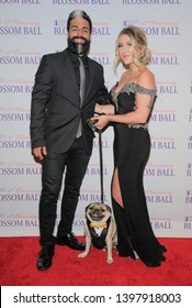New York, NY - May 8, 2019: Guest, Leslie Mosier, Doug the Pug attend Endometriosis Foundation Of America 10th Annual Blossom Ball at Cipriani Wall Street