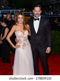 New York, NY  Monday May 04, 2015: Sofia Vergara and Joe Manganiello attend 'China: Through The Looking Glass' Costume Institute Gala, held at the Metropolitan Museum of Art in New York City, New York