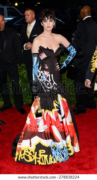 New York, NY  Monday May 04, 2015: Katy Perry attends 'China: Through The Looking Glass' Costume Institute Gala, held at the Metropolitan Museum of Art in New York City, New York.