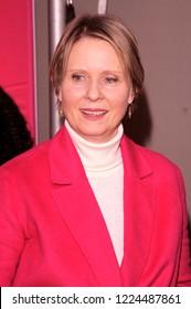 NEW YORK, NY - NOVEMBER 04: Cynthia Nixon attends KIDZ BOP Live at Beacon Theatre on November 4, 2018 in New York City.