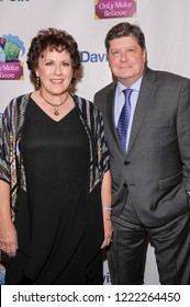 NEW YORK, NY - NOVEMBER 05: Judy Kaye and Michael McGrath attend the 2018 Only Make Believe Gala at The Schoenfeld Theatre on November 5, 2018 in New York City.