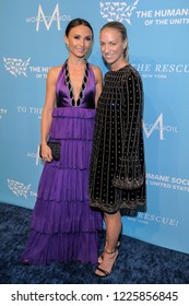 NEW YORK, NY - NOVEMBER 09: Georgina Bloomberg (L) and Susan Chokachi attend The Humane Society's 9th Annual To The Rescue! Gala at Cipriani 42nd Street on November 9, 2018 in New York City.