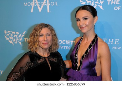 NEW YORK, NY - NOVEMBER 09: Kitty Block and Georgina Bloomberg attend The Humane Society's 9th Annual To The Rescue! Gala at Cipriani 42nd Street on November 9, 2018 in New York City.