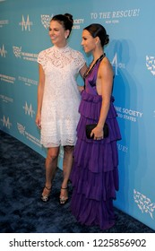 NEW YORK, NY - NOVEMBER 09: Sutton Foster and Georgina Bloomberg attend The Humane Society's 9th Annual To The Rescue! Gala at Cipriani 42nd Street on November 9, 2018 in New York City.