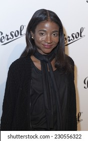 NEW YORK, NY - NOVEMBER 13, 2014: Genevieve Jones attends the Persol Icons Collection launch with Stephane Sednaoui at Art Beam Gallery