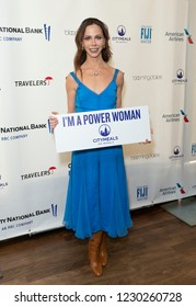 New York, NY - November 14, 2018: Barbara Bush attends Citymeals 32nd power lunch for women at The Rainbow Room