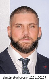 NEW YORK, NY - NOVEMBER 14: Florian Munteanu attends 'Creed II' World Premiere at AMC Loews Lincoln Square on November 14, 2018 in New York City.