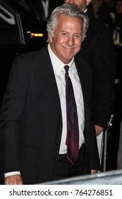 NEW YORK, NY - NOVEMBER 27: Dustin Hoffman attend the 2017 IFP Gotham Awards at Cipriani Wall Street.