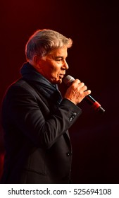NEW YORK, NY - NOVEMBER 27:Singer Oleg Gazmanov performing on stage during the Big Apple Music Awards 2016 Concert at Master Theater on November 27, 2016 in Brooklyn NY.