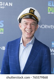 New York, NY - November 29, 2017: Godfather Elvis Duran attends celebration of Norwegian Cruise Line newest ship Bliss at PND lounge The Dream Downtown