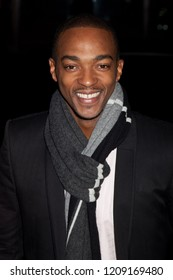 NEW YORK, NY - NOVEMBER 30, 2009: Actor Anthony Mackie attends IFP's 19th Annual Gotham Independent Film Awards at Cipriani, Wall Street.