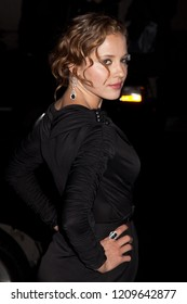 NEW YORK, NY - NOVEMBER 30, 2009: Actress Margarita Levieva attends IFP's 19th Annual Gotham Independent Film Awards at Cipriani, Wall Street.
