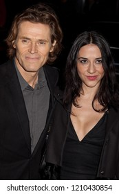 NEW YORK, NY - NOVEMBER 30, 2009: Actor Willem Dafoe and guest attends IFP's 19th Annual Gotham Independent Film Awards at Cipriani, Wall Street on November 30, 2009 in New York City.