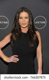 NEW YORK, NY - NOVEMBER 30: Actress Catherine Zeta-Jones attends the Lifetime screening of 'Cocaine Godmother, The Griselda Blanco Story' at NeueHouse Madison Square on November 30, 2017 in NYC.