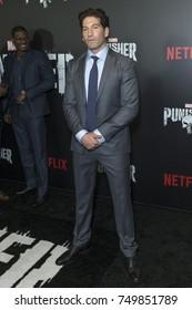 New York, NY - November 6, 2017: Jon Bernthal attends Netflix premiere The Punisher by Marvel at AMC Loews 34th street