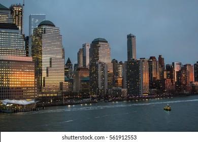 New York. NY. NYC. Skyline.