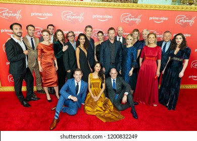 New York, NY - October 11, 2018: Cast attends Amazon Prime Premiere of The Romanoffs at Russian Tea Room