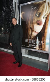 """NEW YORK, NY - OCTOBER 13: Tom Hanks attends the """"Where the Wild Things Are"""" premier on October 13, 2009 in New York City."""