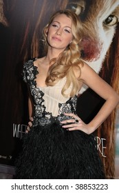 """NEW YORK, NY - OCTOBER 13: Blake Lively attends the """"Where the Wild Things Are"""" premier on October 13, 2009 in New York City."""