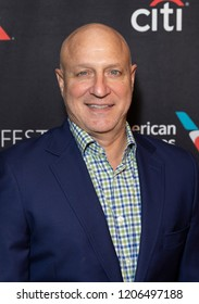 New York, NY - October 18, 2018: Head judge of TV series Top Chef Tom Colicchio attends presentation at Paley Center for Media