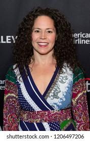 New York, NY - October 18, 2018: Winner of TV series Top Chef Season 15 Stephanie Izard attends presentation at Paley Center for Media