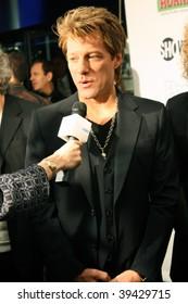 "NEW YORK, NY - OCTOBER 21: Jon Bon Jovi attends the Bon Jovi film ""When we were beautiful"" premier on October 21, 2009 in New York City."