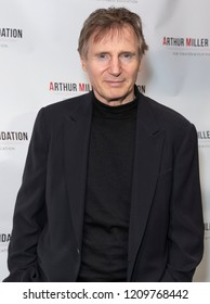 New York, NY - October 22, 2018: Liam Neeson attends 2018 Arthur Miller Foundation Honors Gala at City Winery