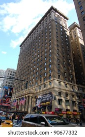 NEW YORK, NY - OCTOBER 23: Hotel Pennsylvania in New York City, shown on October 23, 2011, was built by the Pennsylvania Railroad in 1919. It is across from Penn Station and Madison Square Garden