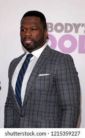 NEW YORK, NY - OCTOBER 28: Curtis '50 Cent' Jackson attends 'Nobody's Fool' New York Premiere at AMC Lincoln Square Theater on October 28, 2018 in New York City.