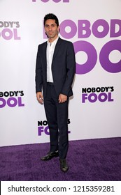 NEW YORK, NY - OCTOBER 28: Nev Schulman attends 'Nobody's Fool' New York Premiere at AMC Lincoln Square Theater on October 28, 2018 in New York City.