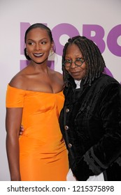NEW YORK, NY - OCTOBER 28: Tika Sumpter and Whoopie Goldberg attend 'Nobody's Fool' New York Premiere at AMC Lincoln Square Theater on October 28, 2018 in New York City.