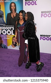 NEW YORK, NY - OCTOBER 28: Tiffany Haddish and Whoopie Goldberg attend 'Nobody's Fool' New York Premiere at AMC Lincoln Square Theater on October 28, 2018 in New York City.