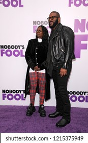 NEW YORK, NY - OCTOBER 28: Whoopie Goldberg and Tyler Perry attend 'Nobody's Fool' New York Premiere at AMC Lincoln Square Theater on October 28, 2018 in New York City.
