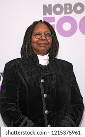 NEW YORK, NY - OCTOBER 28: Whoopi Goldberg attends 'Nobody's Fool' New York Premiere at AMC Lincoln Square Theater on October 28, 2018 in New York City.