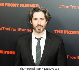 New York, NY - October 30, 2018: Jason Reitman attends premiere The Front Runner at Museum of Modern Art