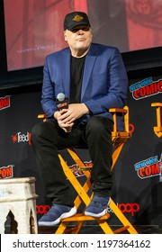 New York, NY - October 6, 2018: Vincent D'Onofrio attends Marvel's DAREDEVIL panel during New York Comic Con at Hulu Theater at Madison Square Garden