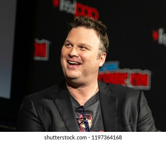 New York, NY - October 6, 2018: Erik Oleson attends Marvel's DAREDEVIL panel during New York Comic Con at Hulu Theater at Madison Square Garden