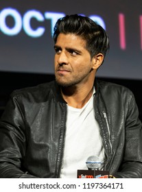 New York, NY - October 6, 2018: Jay Ali attends Marvel's DAREDEVIL panel during New York Comic Con at Hulu Theater at Madison Square Garden