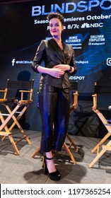 New York, NY - October 6, 2018: Jaimie Alexander attends panel for NBC series Blindspot during New York Comic Con at Jacob Javits Center