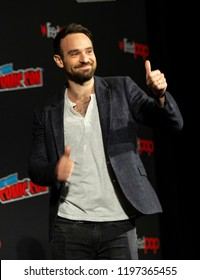 New York, NY - October 6, 2018: Charlie Cox attends Marvel's DAREDEVIL panel during New York Comic Con at Hulu Theater at Madison Square Garden