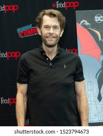 New York, NY - October 6, 2019: Kevin Conroy attends presser for Batman Beyond 20th Anniversary by Warner Brothers during New York Comic Con at Jacob Javits Center