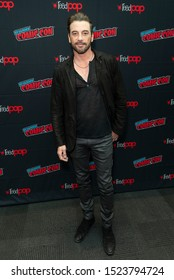 New York, NY - October 6, 2019: Skeet Ulrich attends presser for Riverdale series by Warner Brothers during New York Comic Con at Jacob Javits Center