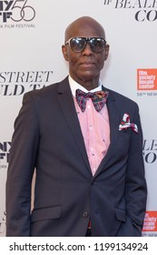 New York, NY - October 9, 2018: Dapper Dan attends premiere of If Beale Street Could Talk during the 56th New York Film Festival at The Apollo Theater