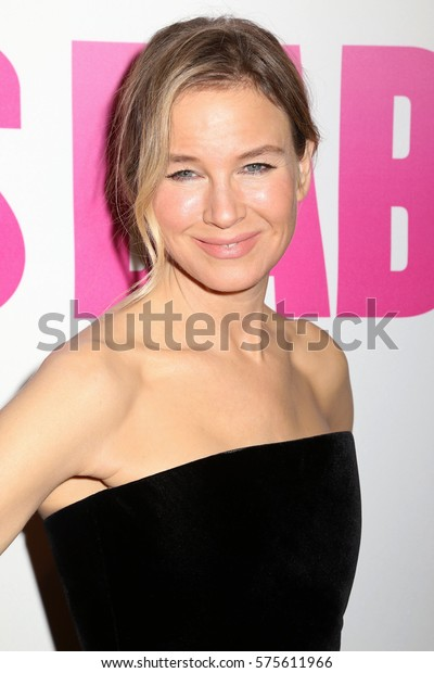 """NEW YORK, NY - SEP 12, 2016: Renee Zellweger attends the premiere of """"Bridget Jones's Baby"""" at the Paris Theatre on September 12, 2016, in New York."""
