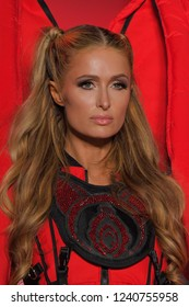 NEW YORK, NY - SEPTEMBER 11: Paris Hilton walks the runway for Namilia during New York Fashion Week: The Shows at Gallery II at Spring Studios on September 11, 2018 in New York City.