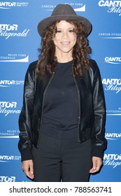 New York, NY - September 11, 2017: Rosie Perez attends Annual Charity Day hosted by Cantor Fitzgerald, BGC and GFI at Cantor Fitzgerald Park Avenue