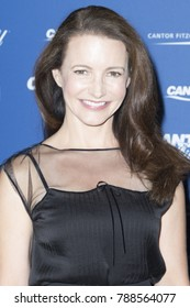 New York, NY - September 11, 2017: Kristin Davis attends Annual Charity Day hosted by Cantor Fitzgerald, BGC and GFI at Cantor Fitzgerald Park Avenue