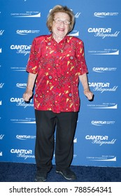 New York, NY - September 11, 2017: Dr. Ruth Westheimer attends Annual Charity Day hosted by Cantor Fitzgerald, BGC and GFI at Cantor Fitzgerald Park Avenue