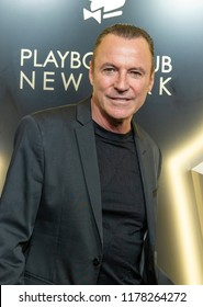 New York, NY - September 12, 2018: Colin Cowie attends Playboy Club New York Opening Party on 42nd street