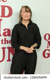 New York, NY - September 20, 2018: Sissy Spacek attends premiere of movie The Old Man & The Gun at Paris theatre